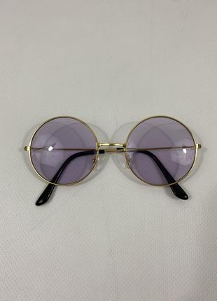 Новые женские фиолетовые, сиреневые стильные очки