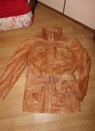 Стильна шкіряна куртка yessica