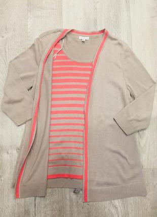 Кардиган кофта свитер трикотаж женская