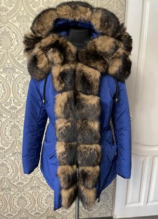 Красива куртка- парка. ексклюзив