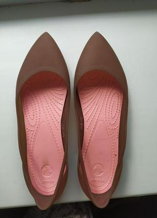 Crocs балетки