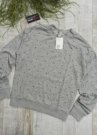 Свитшот пуловер н&м