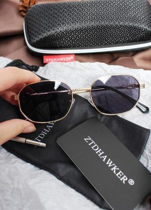 Новые унисекс круглые очки в стиле ретро + чехол