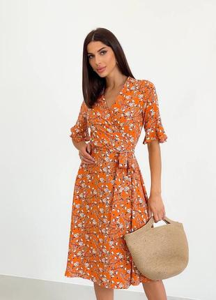 Платье женское летнее легкое штапель