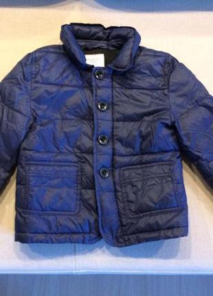 Тёплая  демисезонная куртка от mangokids