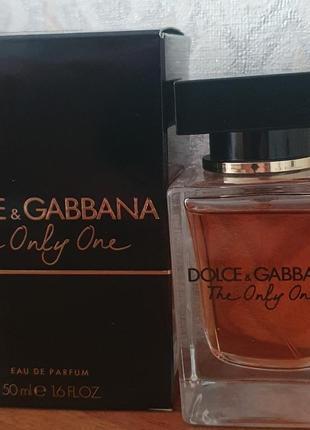 """Парфюм оригинал """"dolce&gabbana"""" the only one"""