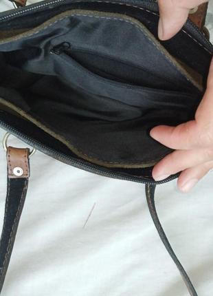 Кожанная сумочка3 фото