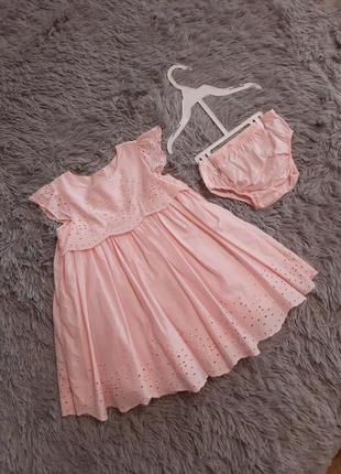 Платье  mothercare 80-92
