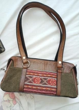 Кожанная сумочка