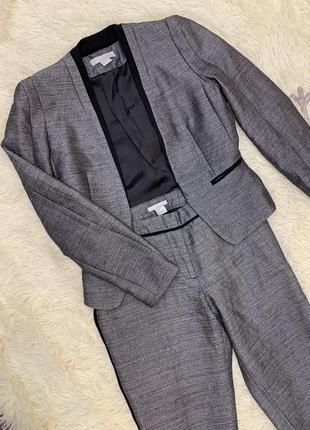 Костюм офисный. комплект пиджак+штаны