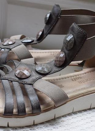 Босоножки сандали сандалии ремонте remonte soft р.39 25.5 см