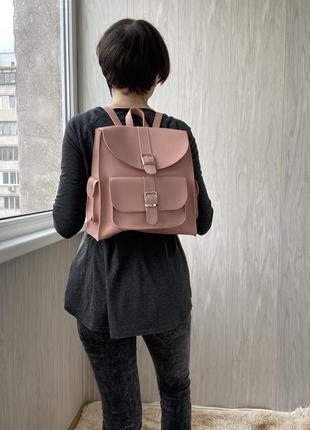 Рюкзак, світла пудра