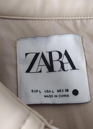 Рубашка оверсайз zara2 фото