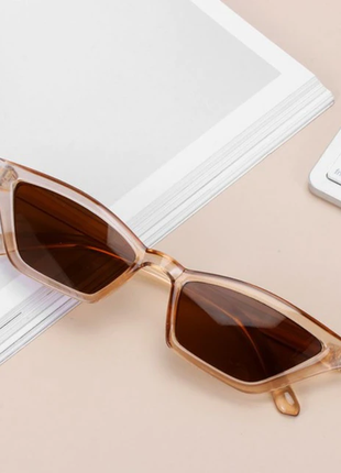 Новые очки в коричневой оправе primark