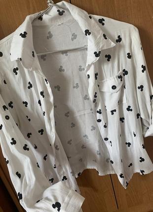 Рубашка с микки