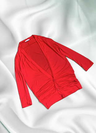 Красная кофта на пуговицах от topshop кардиган