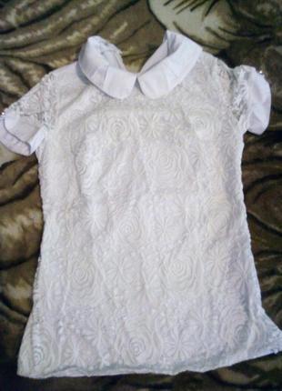 Белая блузочка в школу
