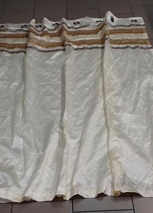 Красивая штора с подкладкой