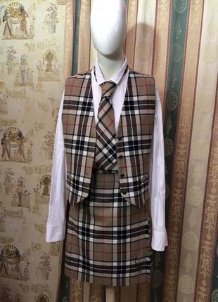 Новый женский шотландский костюм kilt  james pringle weavers. юбка-килт