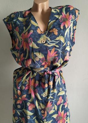 Блуза, кардиган, жакет без рукавов из 100% шелка