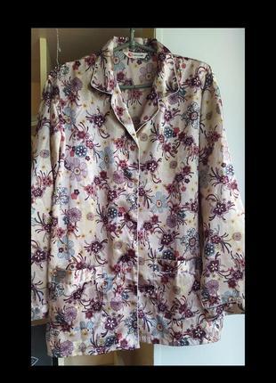 Рубашка пижамная шёлк