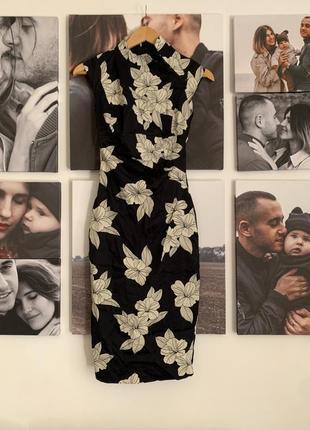 Шикарное стильное актуальное выпускное коктейльное платье миди