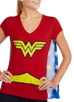 Яркая футболка для вечеринок wonderwoman s
