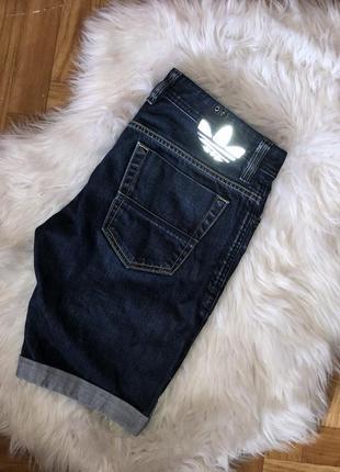 Adidas x diesel шорты джинсовые