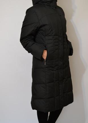 Пуховик длинный ,пуховое пальто trespass.