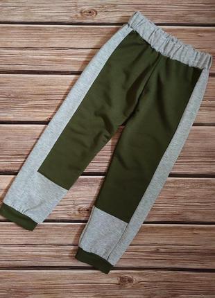 Спортивные штаны джоггеры ручная работа