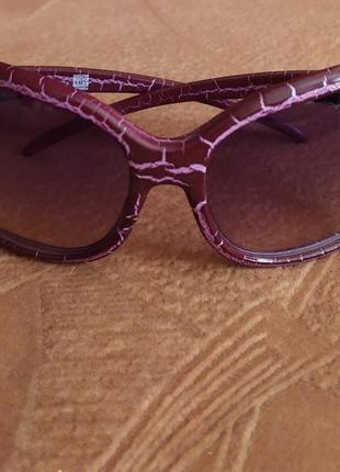 Шикарные солнцезащитные очки с градиентом danor итали