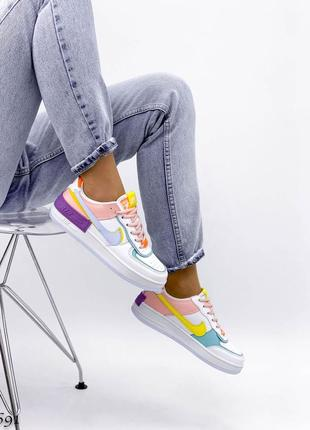 Разноцветные форсы кожаные