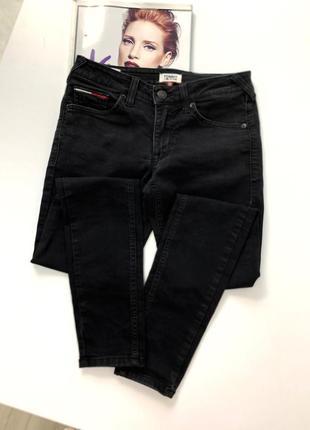 Чёрные джинсы tommy hilfiger оригинал новая коллекция
