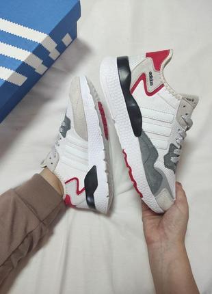 Женские кроссовки adidas nite jogger(36-41р) наложенный платеж