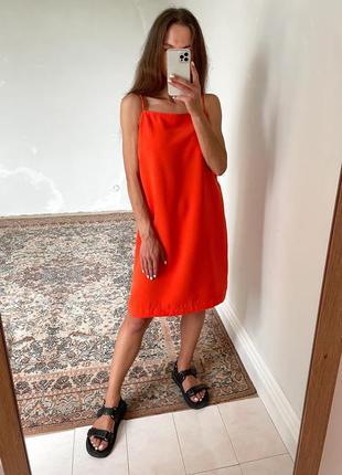 Плаття оранжевого кольору