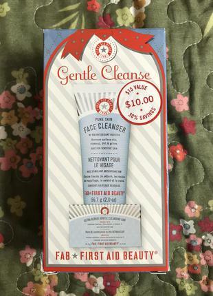 Набор first aid beauty sephora гель+мыло для умывания