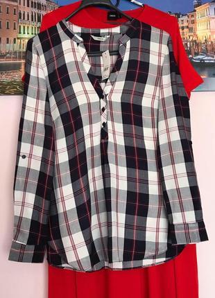 Новая блуза в клетку , рубашка