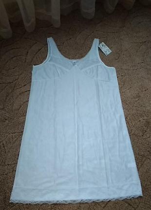 Комбинация пеньюар ночная сорочка с кружевом
