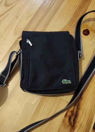 Барсетка сумка  lacoste сумка через плече