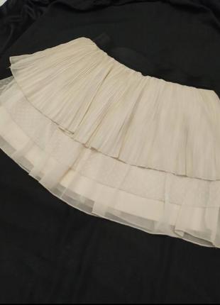 Летняя короткая мини юбка pimkie