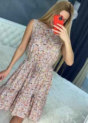 Женское платье 44-50 размер