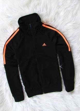 Спортивная кофта свитшот реглан бомбер мастерка adidas
