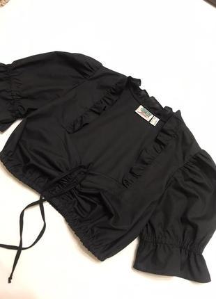 Блуза топ рукава фонарики