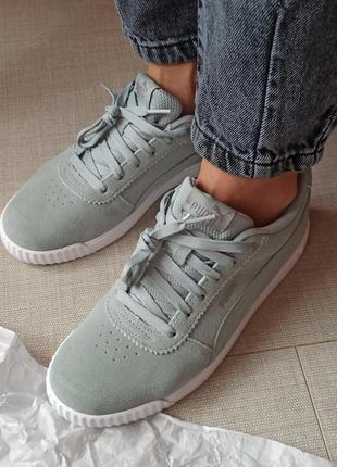 Puma оригінал жіночі кросівки кроссовки женские сша замш натуральний