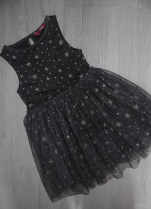 Платье в звездах young dimension 5-6л
