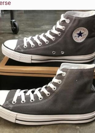Кеды converse chuck taylor all star seasnl hi charcoal 1j793c