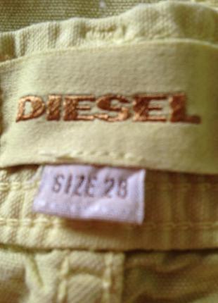Зауженные бриджи коттон diesel