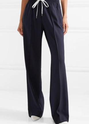 Стильный брюки,широкие,высокая посадка,
