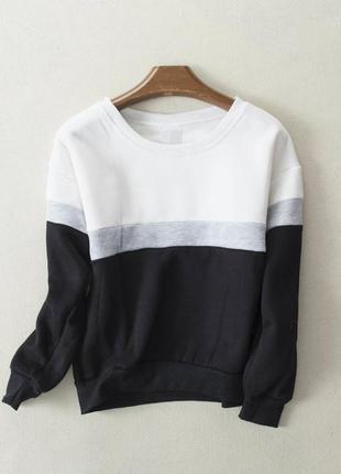Теплый свитер - свитшот
