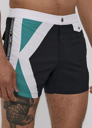 Оригинальные плавательные шорты karl lagerfeld